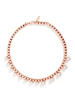 Joomi Lim - 'True Innocence' faux pearl chain necklace