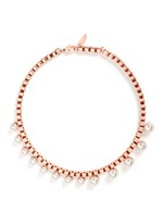 'True Innocence' faux pearl chain necklace