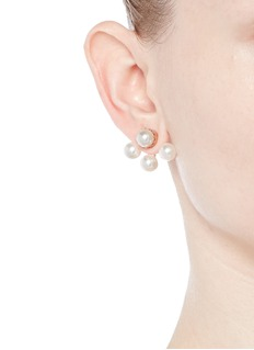 Joomi Lim 'True Innocence' faux pearl deco earrings