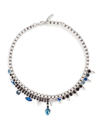 Joomi Lim - 'Organized Chaos' spike crystal chain necklace