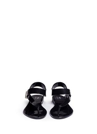 正面 -点击放大 - MELISSA - x Jason Wu Charlotte夹脚果冻平底凉鞋