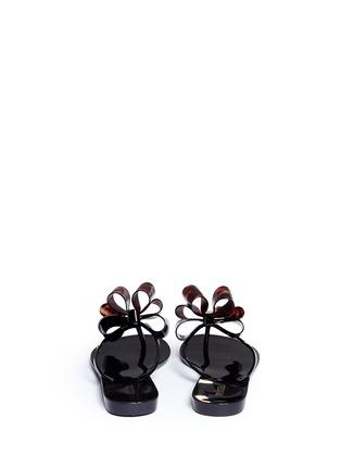 背面 - 点击放大 - MELISSA - Harmonic蝴蝶结装饰果冻凉鞋