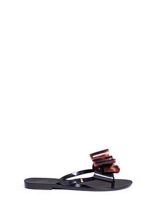 首图 - 点击放大 - MELISSA - Harmonic蝴蝶结装饰果冻凉鞋