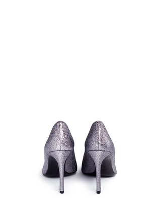 Back View - Click To Enlarge - Stuart Weitzman - 'Divine Heist' Swarovski crystal brooch glitter pumps