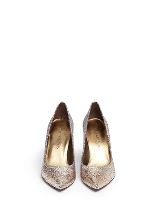 Front View - Click To Enlarge - Stuart Weitzman - 'Heist' dégradé glitter pumps