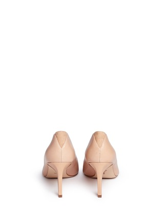 Back View - Click To Enlarge - Sam Edelman - 'Orella' suede trim leather pumps