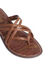 'Georgette' strappy slide sandals