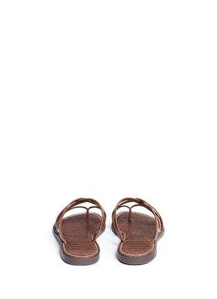 Back View - Click To Enlarge - Sam Edelman - 'Georgette' strappy slide sandals