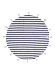 Band Of MartiansTassel stripe round blanket