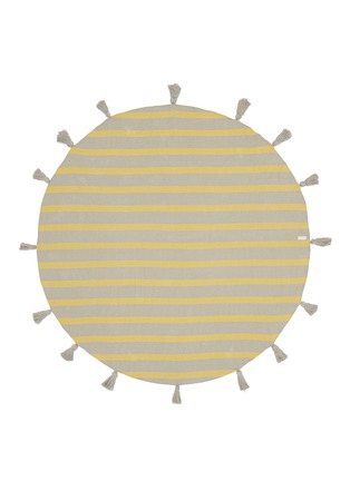 Band Of Martians - Tassel stripe round blanket