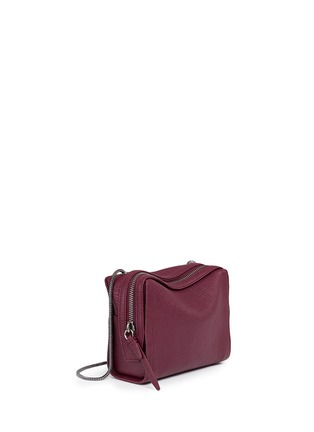 Front View - Click To Enlarge - 3.1 Phillip Lim - 'Soleil' mini crossbody leather zip bag