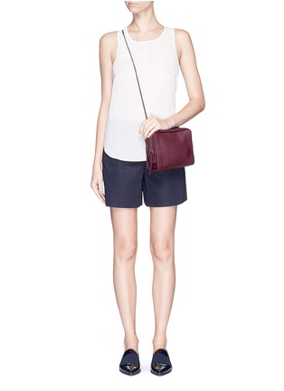 Figure View - Click To Enlarge - 3.1 Phillip Lim - 'Soleil' mini crossbody leather zip bag