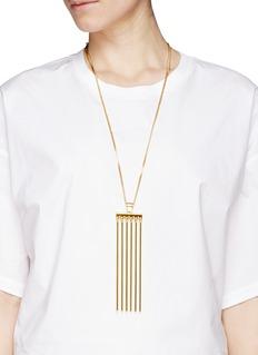 CHLOÉ'Frances' bar pendant necklace