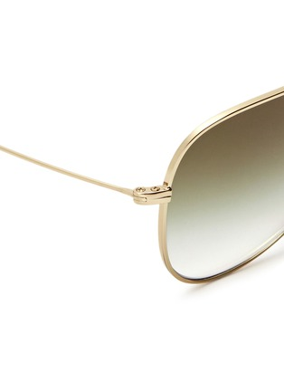 Detail View - Click To Enlarge - Oliver Peoples - x Isabel Marant 'Matt' lightweight aviator sunglasses