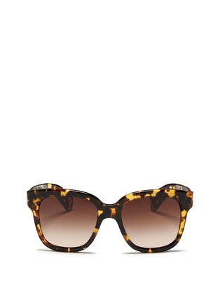 首图 - 点击放大 - OLIVER PEOPLES - 'Brinley' tortoiseshell acetate square sunglasses