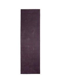 ST. JOHNPolka dot silk chiffon scarf