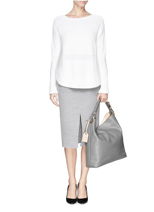 Figure View - Click To Enlarge - REED KRAKOFF - 'RDK Hobo' leather tote