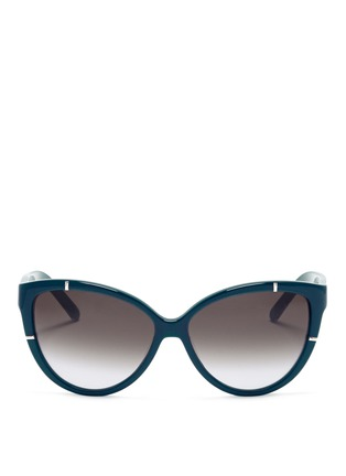 Main View - Click To Enlarge - Chloé - Oversized cat eye sunglasses