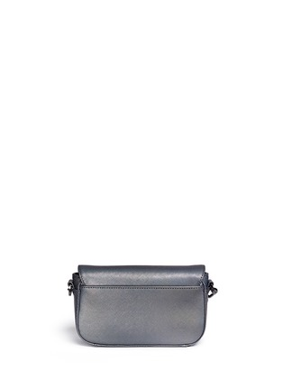 Back View - Click To Enlarge - Tory Burch - 'Robinson' ologram adjustable mini bag