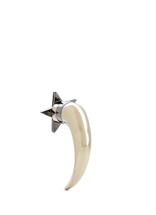 Back View - Click To Enlarge - Givenchy - Star shark tooth earring