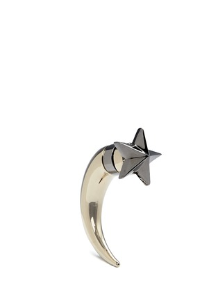 Main View - Click To Enlarge - Givenchy - Star shark tooth earring