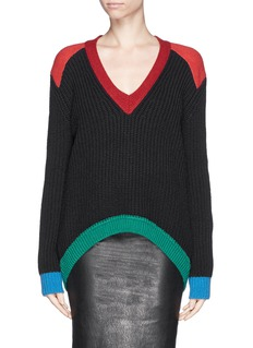 GIVENCHY Colourblock wool sweater