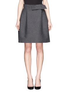LANVINBow flare skirt