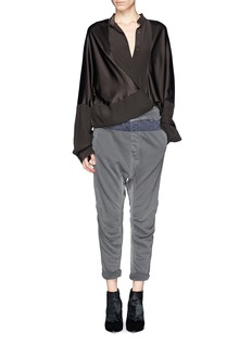 HAIDER ACKERMANN'Perth' French terry jogging pants