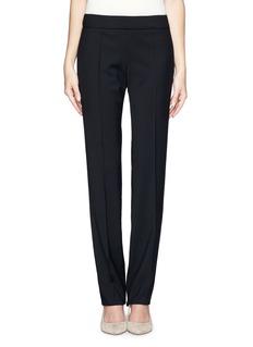 ARMANI COLLEZIONIStretch pleat side zip pants