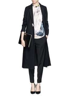 MO&CO. EDITION 10Wool long coat