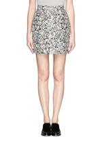 Carpet pad jacquard skirt