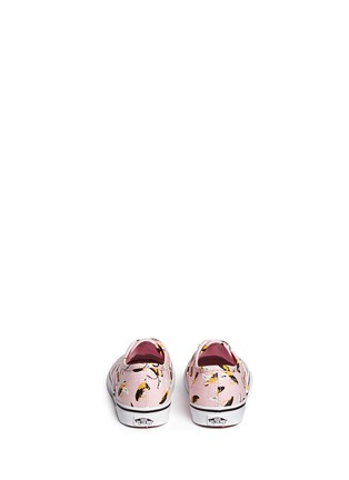 Back View - Click To Enlarge - Vans - 'Authentic Banana' print canvas toddler sneakers