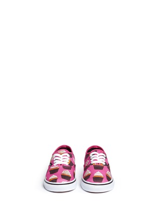 Figure View - Click To Enlarge - Vans - 'Authentic Late Night' cupcake print canvas toddler sneakers