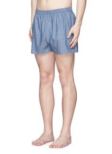 SunspelHoneycomb dobby boxer shorts