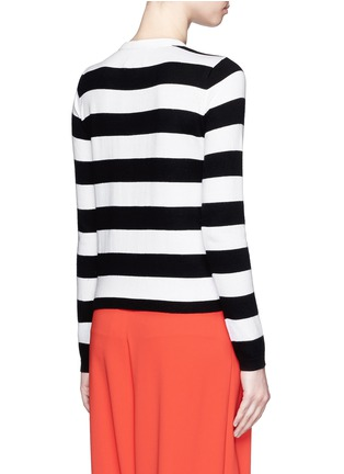 Back View - Click To Enlarge - alice + olivia - Stace Face stripe cardigan