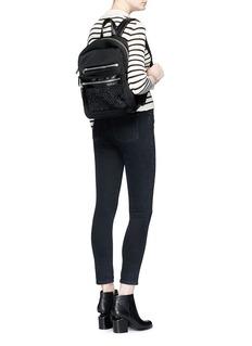ASH'Nicki' crystal embellished neoprene small backpack