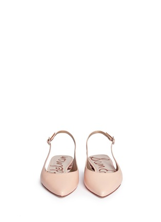 Front View - Click To Enlarge - Sam Edelman - 'Hadley' slingback leather flats
