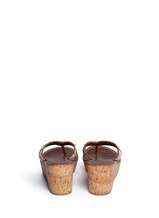 Sam Edelman - 'Rosa' beaded cork wedge sandals
