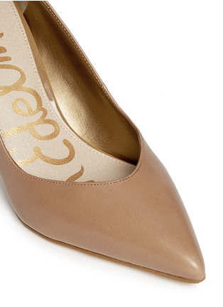Detail View - Click To Enlarge - Sam Edelman - Orella' patent trim leather pumps