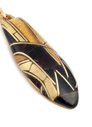 Detail View - Click To Enlarge - Niin - 'Umbra' hook pendant earrings