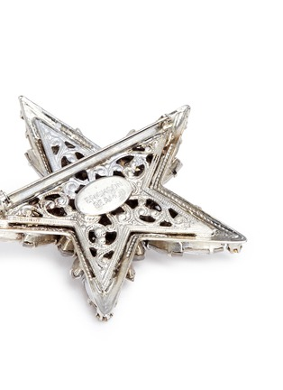 Detail View - Click To Enlarge - Erickson Beamon - 'Star Search' Swarovski crystal brooch