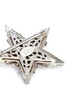 'Star Search' Swarovski crystal brooch