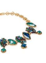 'St. Moritz' 24k gold plated Swarovski crystal necklace
