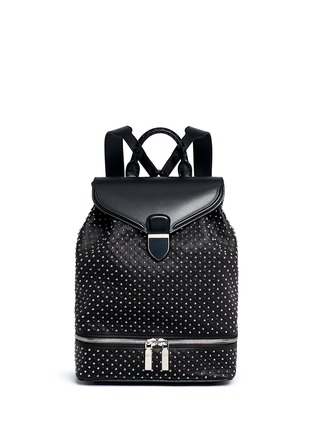 Main View - Click To Enlarge - Alexander McQueen - Stud leather backpack