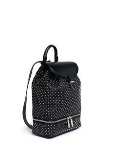ALEXANDER MCQUEENStud leather backpack