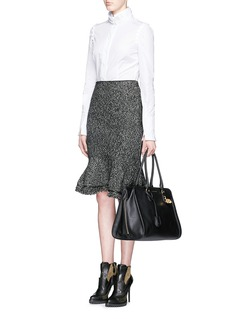 ALEXANDER MCQUEEN'Padlock' large leather tote