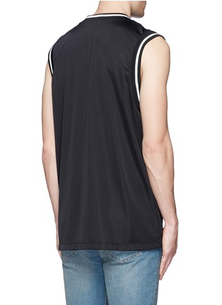 Back View - Click To Enlarge - Valentino - 'Super-H' Batman basketball tank