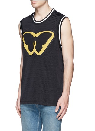 Front View - Click To Enlarge - Valentino - 'Super-H' Batman basketball tank