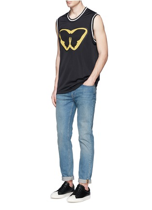 Figure View - Click To Enlarge - Valentino - 'Super-H' Batman basketball tank