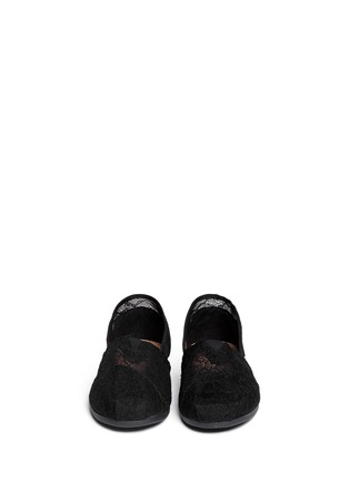 Figure View - Click To Enlarge -  - Classic lace slip-ons